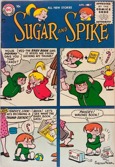 1956 - Sugar and Spike #1 - Click for Bigger Image in a New  Page